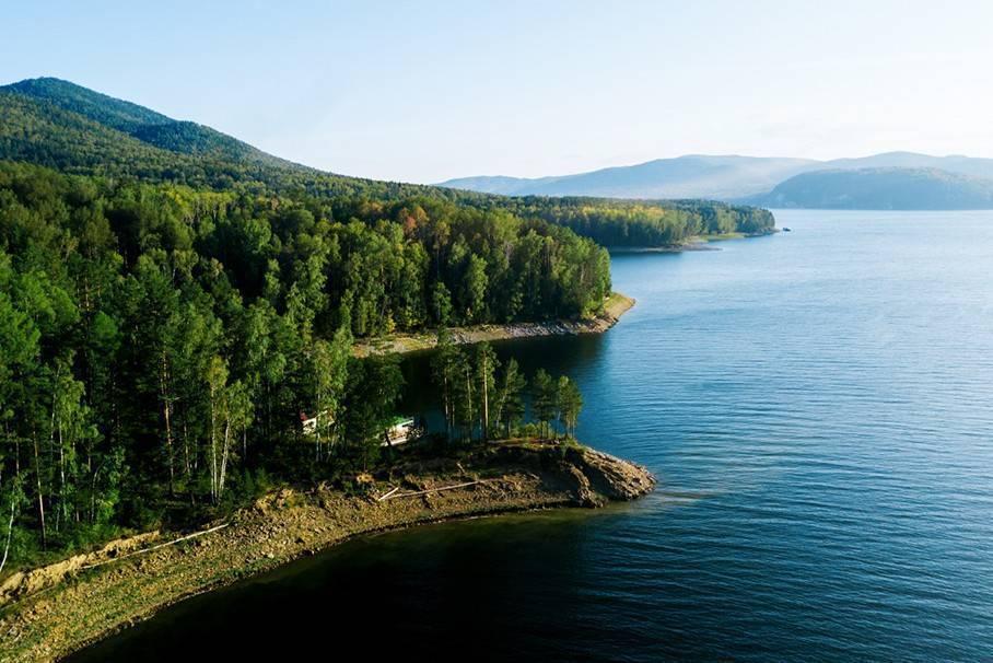 Красноярское водохранилище: описание, особенности, отдых