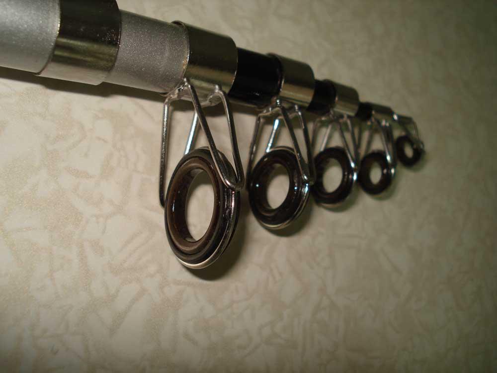 Пропускные кольца – виды, требования к ним и как заменить при поломке на спиннинге?