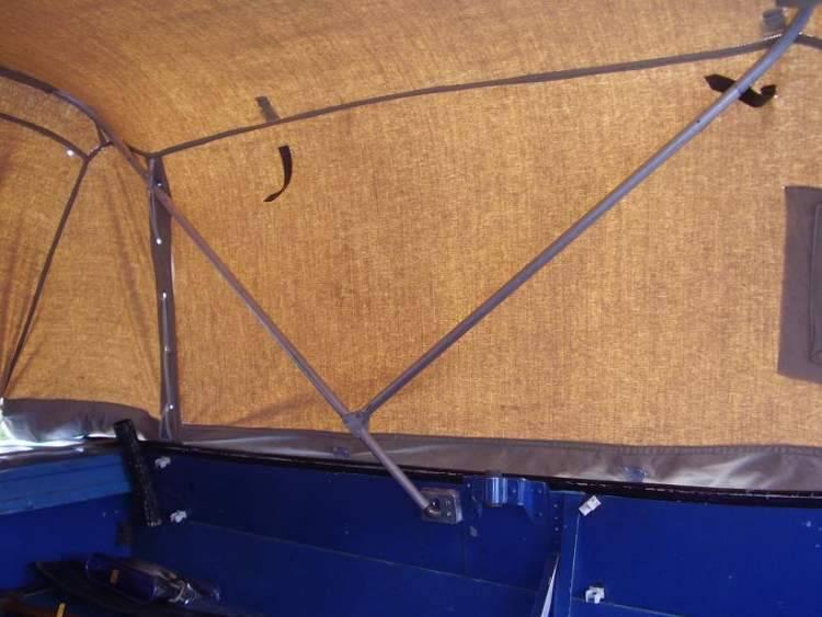 Самодельный тент на лодку своими руками: инструкция по изготовлению и установке