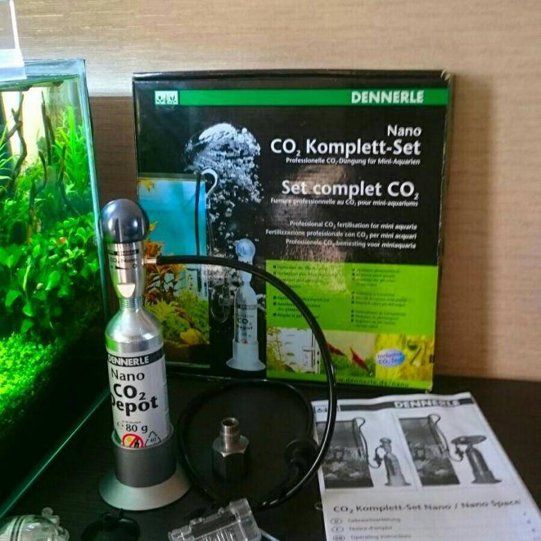 Dennerle Nano СО2 Complete Set Комплект подачи СО2 для нано-аквариумов