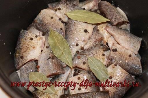 Как приготовить рыбные консервы в мультиварке из речной рыбы