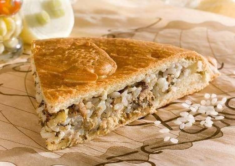 Рыбный пирог – кулинарный рецепт