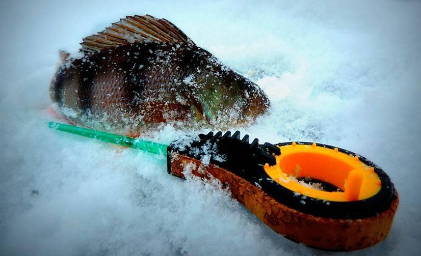 Рыбалка на безмотылку зимой