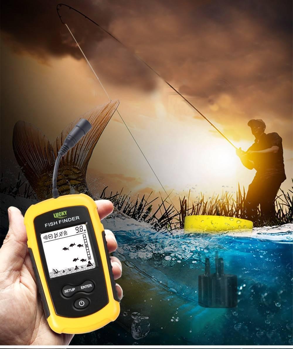 Обзор эхолота fish finder ff 1108