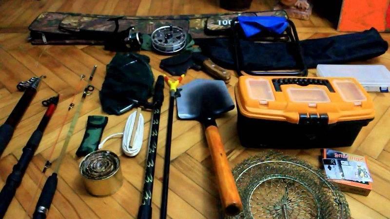Экипировка и снаряжение при зимней рыбалке для начинающих