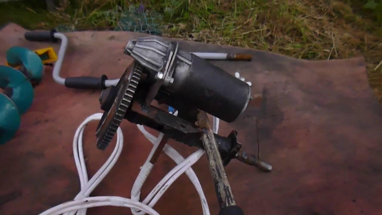 Способы изготовления ручного бура для рыбалки