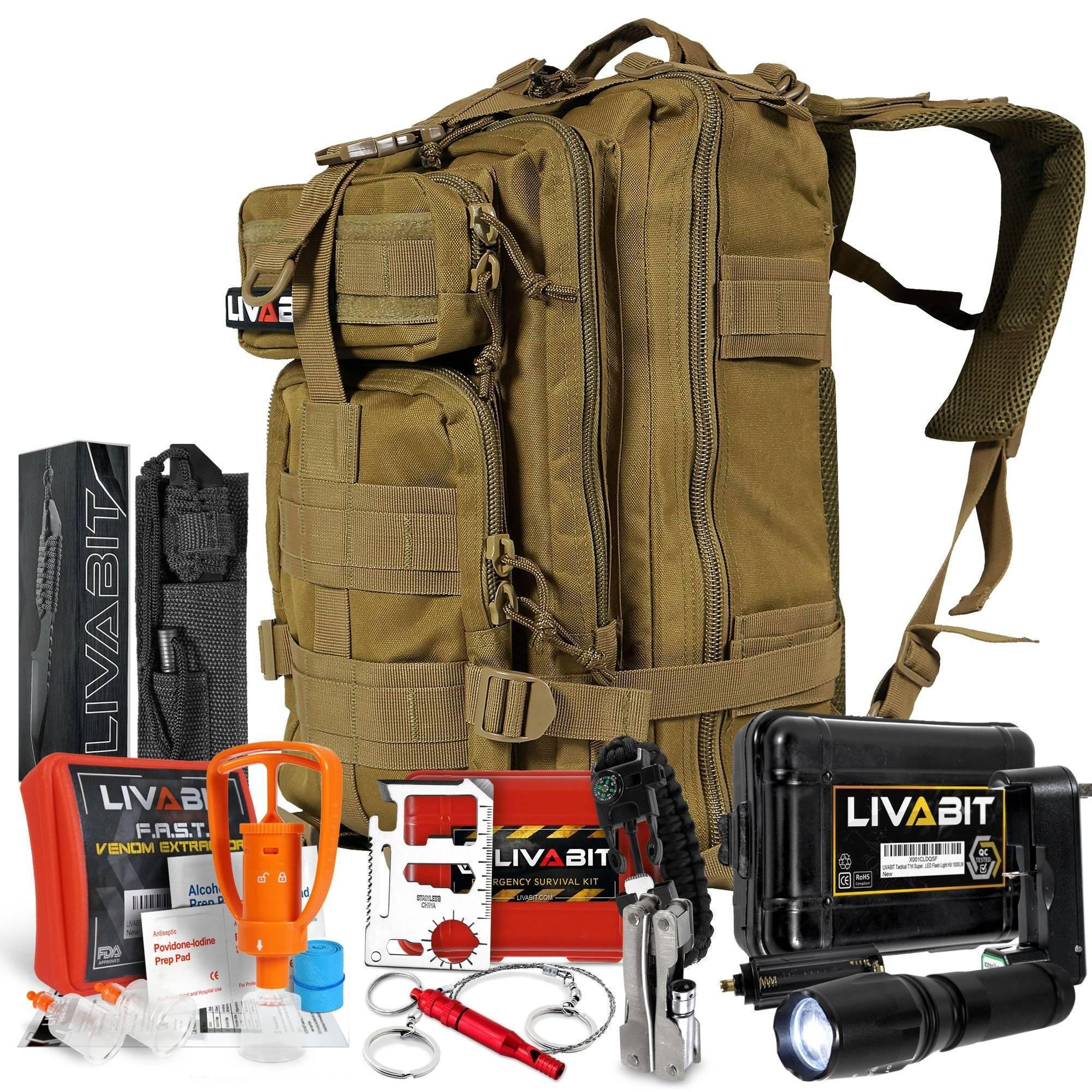 Рюкзак экстренной эвакуации: набор выживания на 72 часа