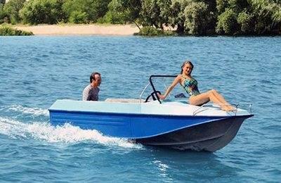 Какие параметры имеет лодка казанка?