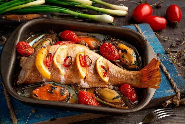 Как вкусно приготовить красный морской окунь: рецепты для духовки