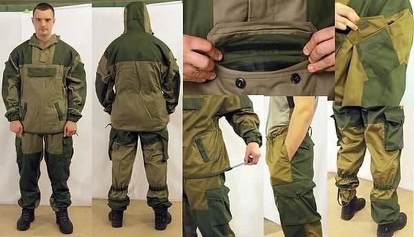 Рыболовный костюм горка - отзывы рыбаков, характеристики