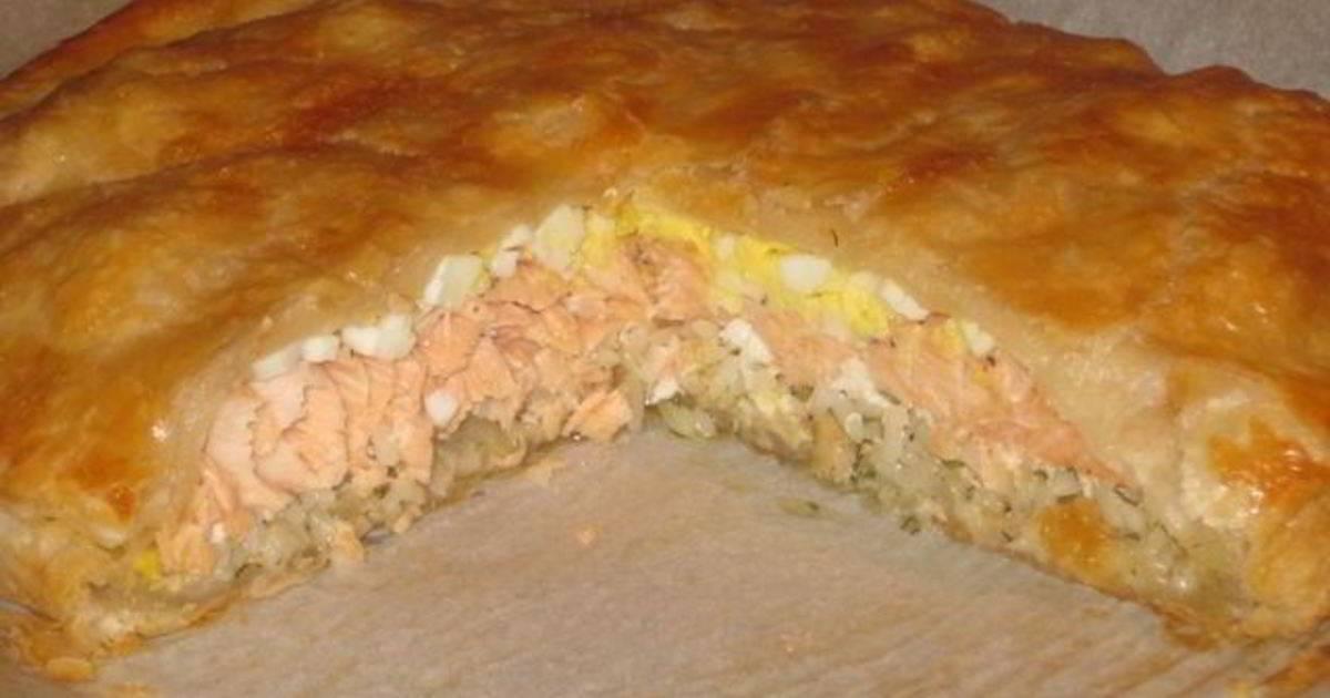 Рыбный пирог и его варианты
