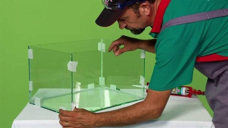 Выбор силиконового клея для аквариума, и какой герметик лучше использовать