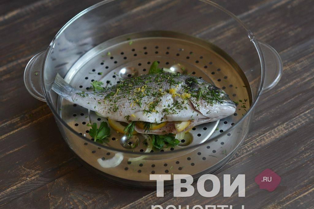 Рыба приготовленная напару