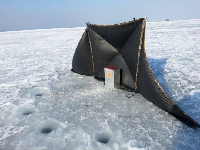 Зимняя палатка для рыбалки своими руками — пошаговое руководство