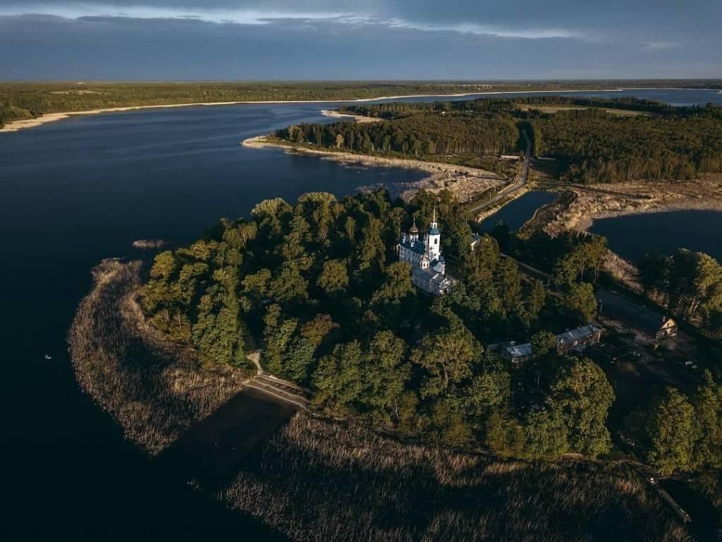 Озеро череменецкое (ленинградская область)