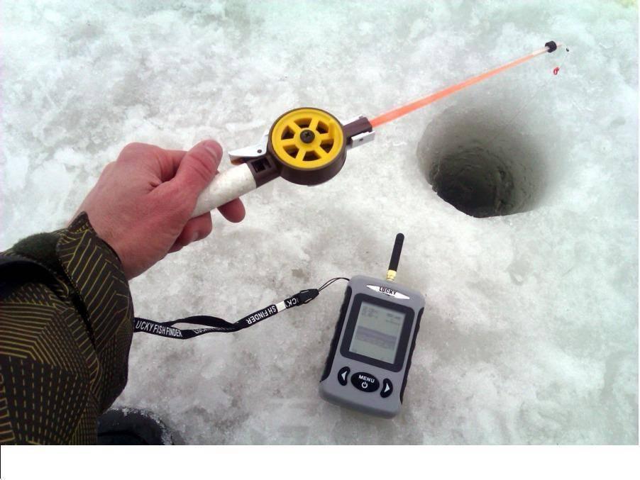 Как выбрать эхолот для зимней рыбалки через лед