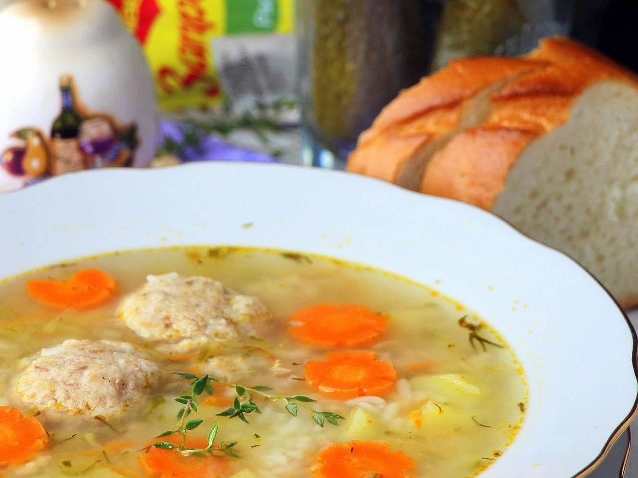 Суп с рыбными фрикадельками. / рыбные супы / tvcook: пошаговые рецепты с фото