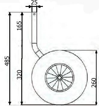 Как сделать колеса для лодок своими руками?