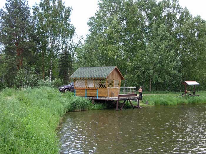 Базы отдыха с рыбалкой и проживанием в московской области