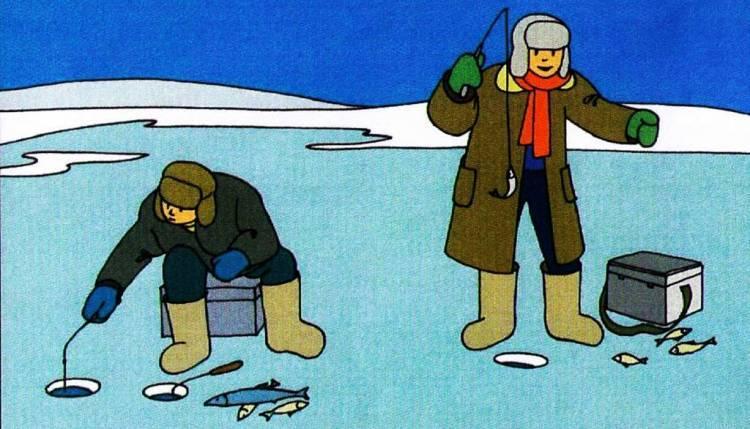 Подлёдный улов. как обезопасить себя на зимней рыбалке? | общество | аиф омск