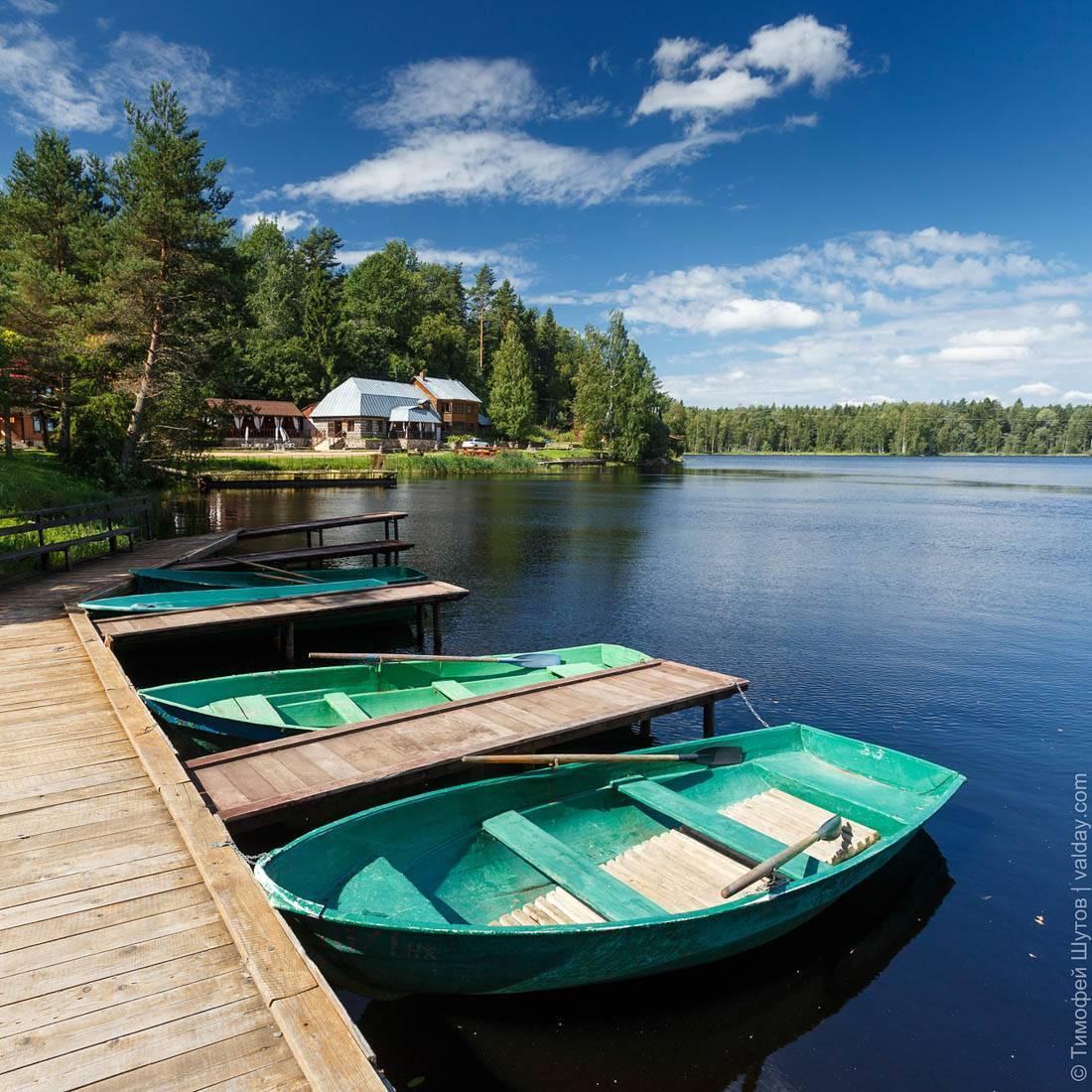 Все про озеро горовалдайское (ленинградская область): выбираем место для рыбалки и отдыха