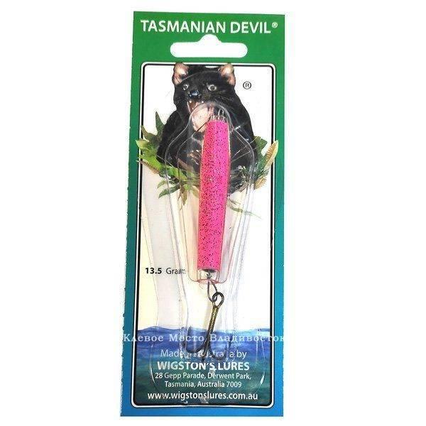 Тасманский дьявол. универсальная приманка для ловли хищной рыбы. фото.