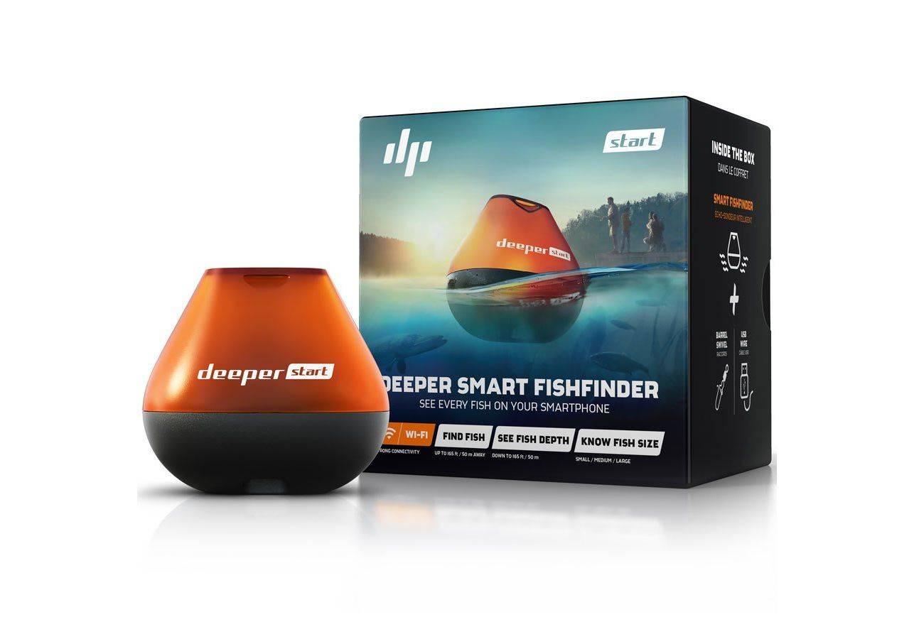 Эхолот deeper smart fishfinder, pro plus, 3.0 отзывы покупателей