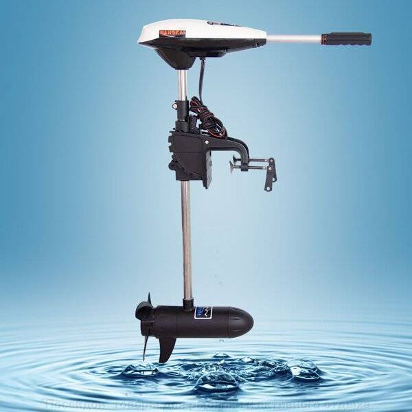 Электромоторы для надувной лодки, сравнительный тест