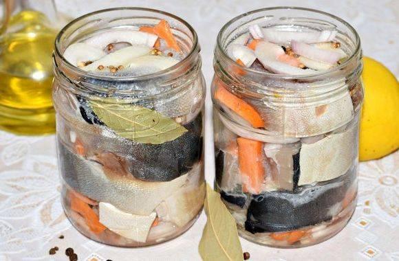 Консервы рыбные - рецепты