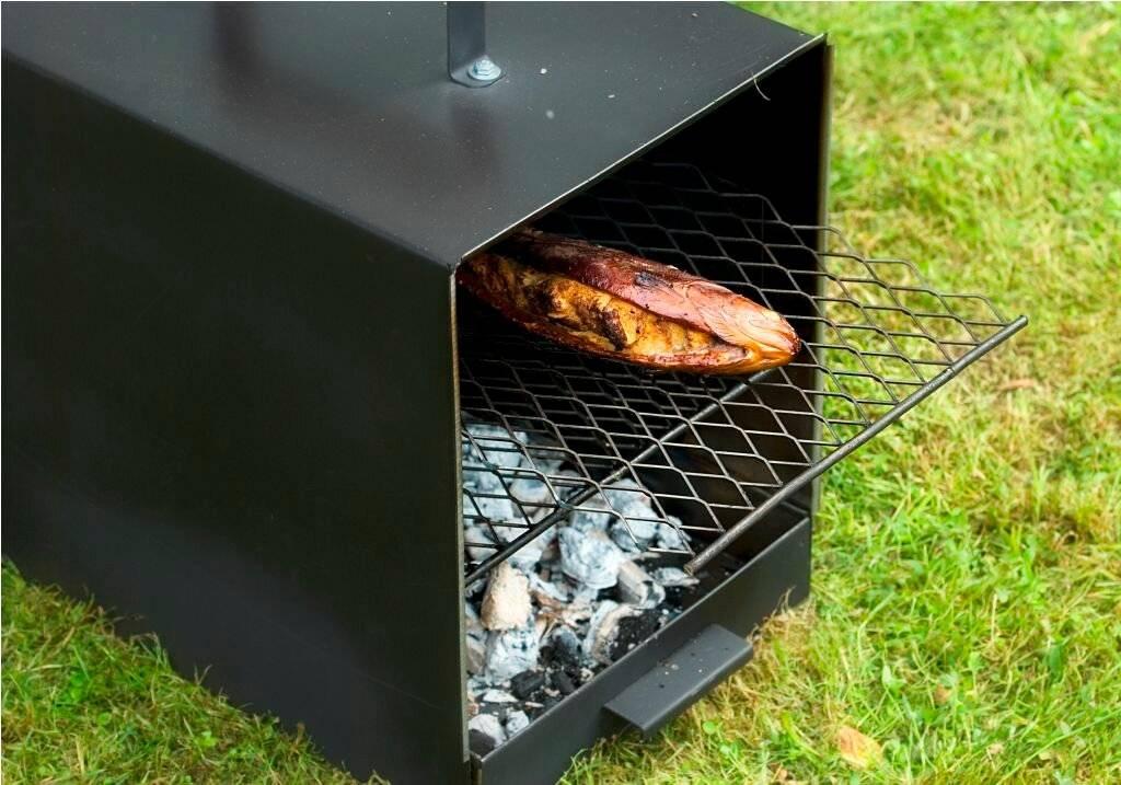 Коптильня для рыбы: как сделать своими руками в домашних условиях, маленькая переносная модель для холодного копчения, варианты мини и макси для приготовления мяса