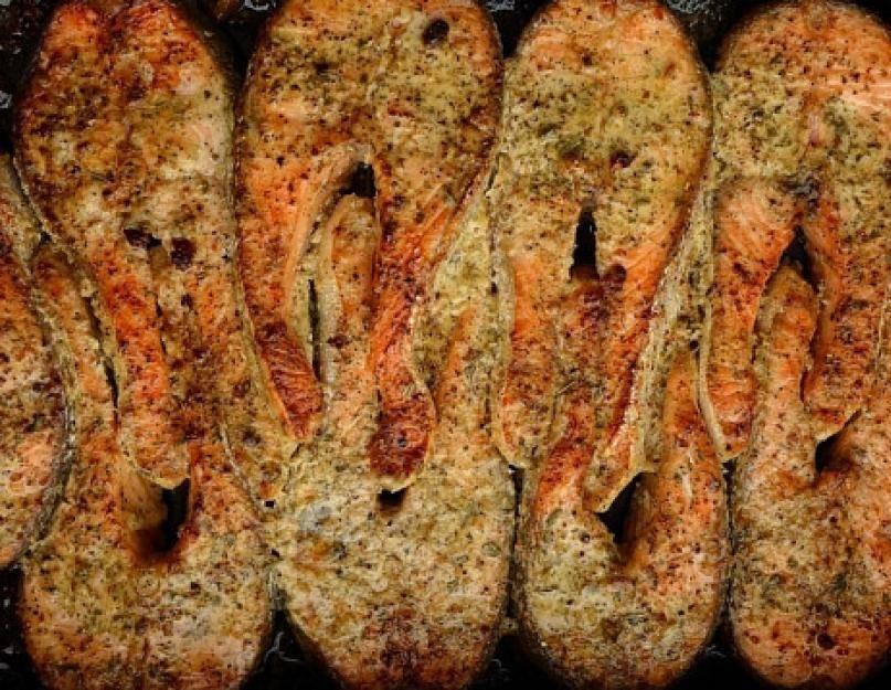 Голец – пошаговые рецепты приготовления в духовке