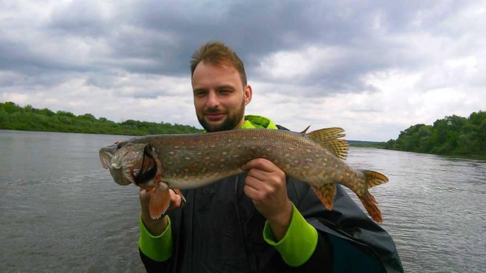 Рыбалка на оке под серпуховым