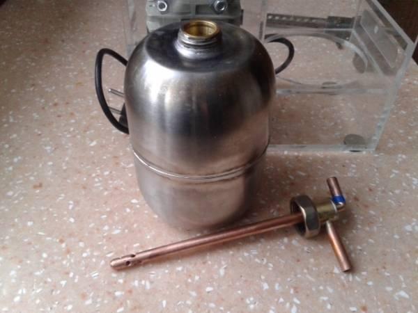 Изготовление бензиновой горелки своими руками