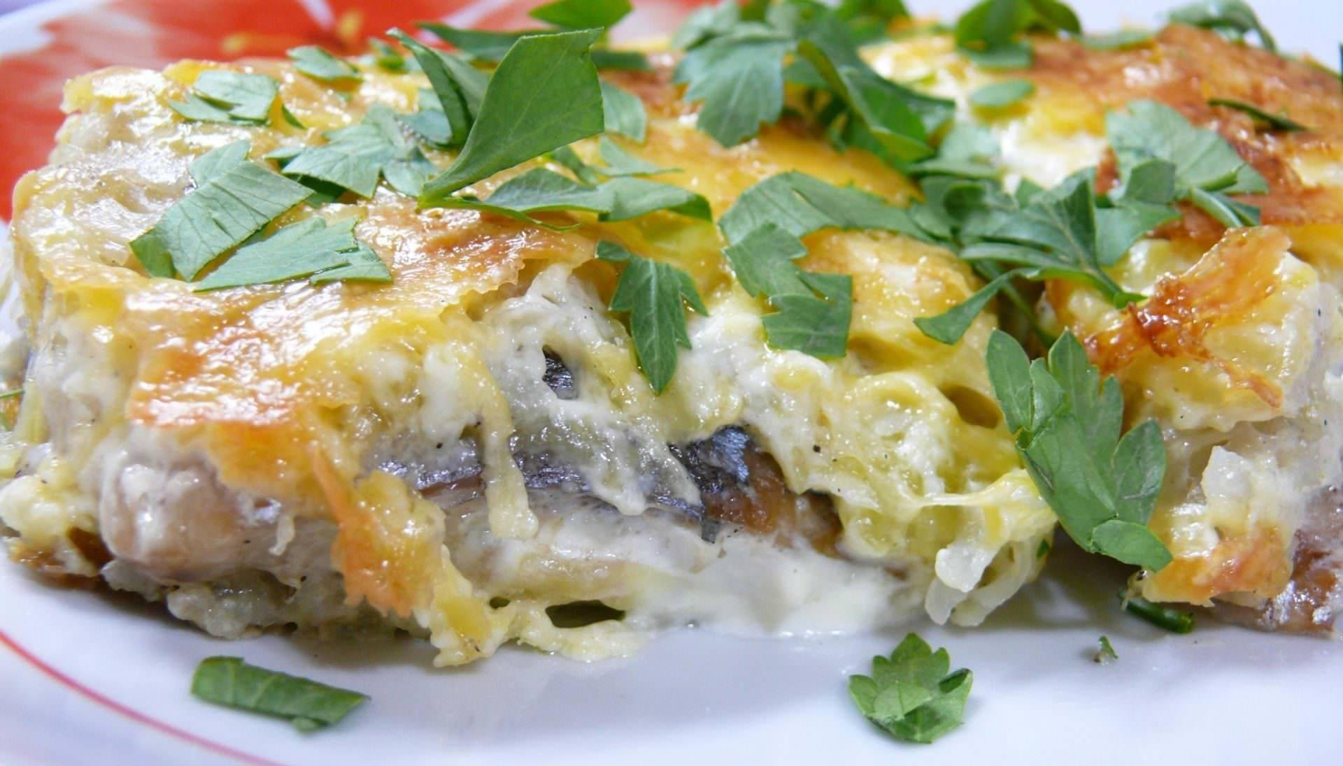 Запеканка рыбная в мультиварке / блюда из хека / tvcook: пошаговые рецепты с фото