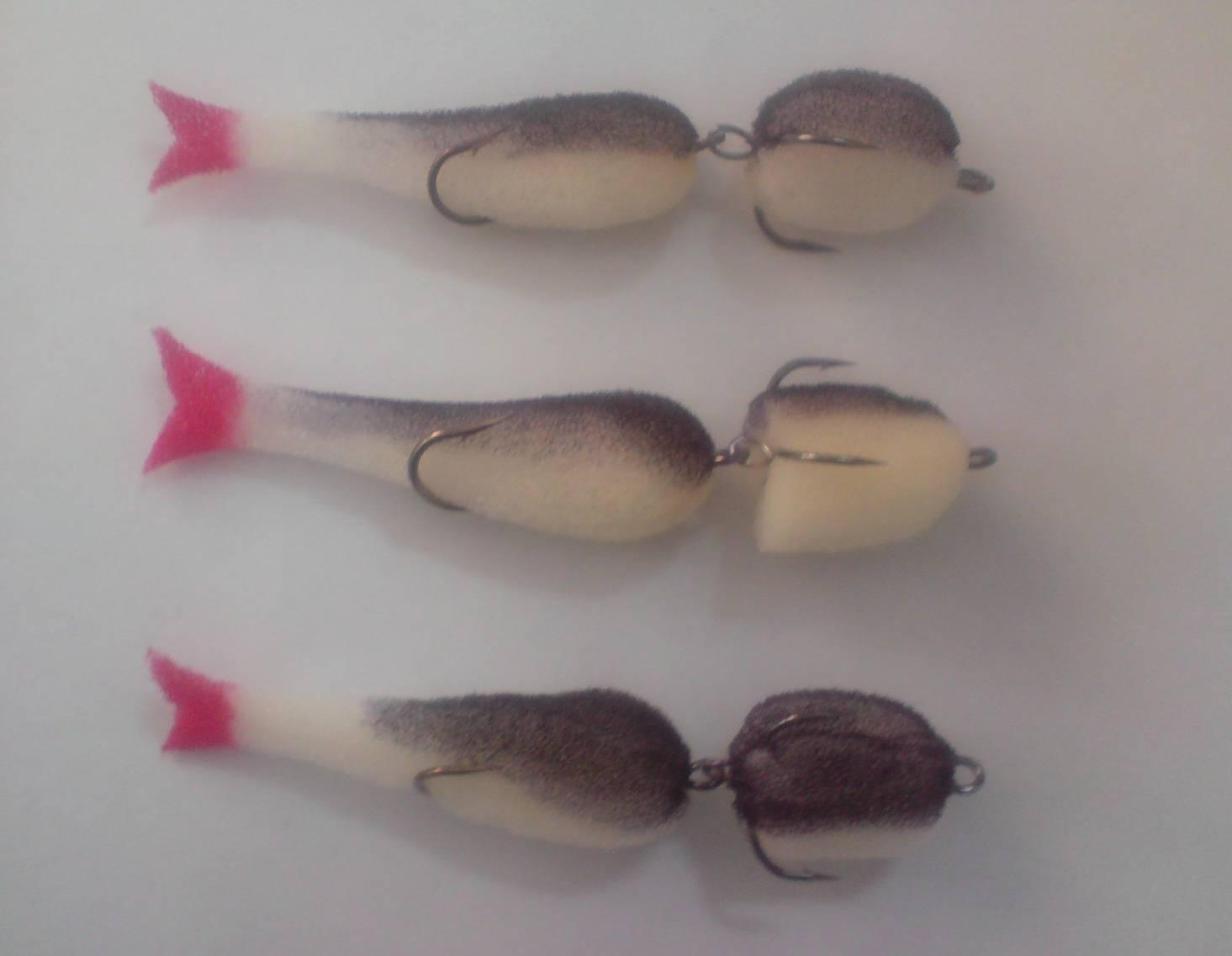 Изготовление поролоновых рыбок