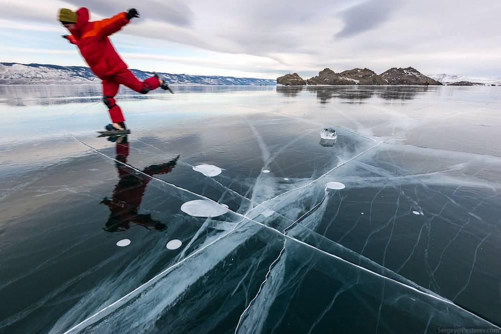 Когда на байкале прозрачный лед? вопрос-ответ