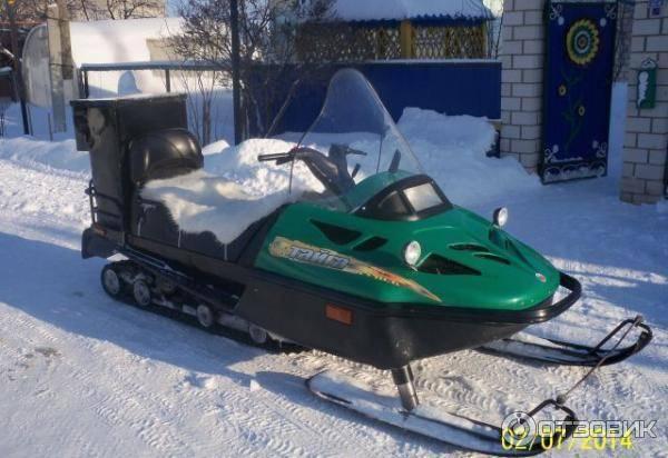 Снегоход тайга патруль 551 swt