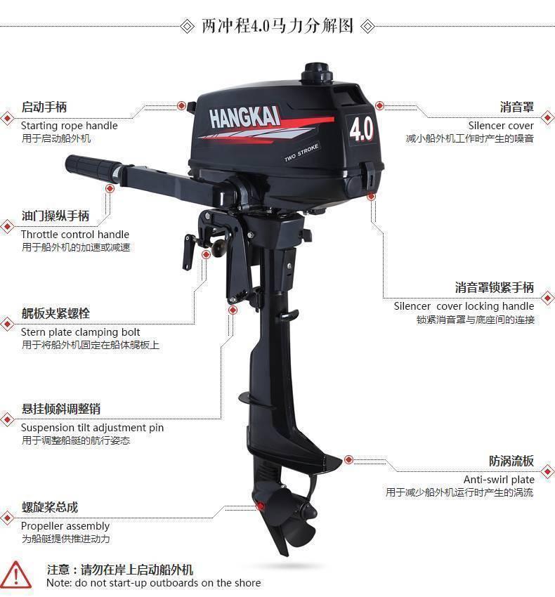 11 лучших производителей китайских лодочных моторов - рейтинг 2020