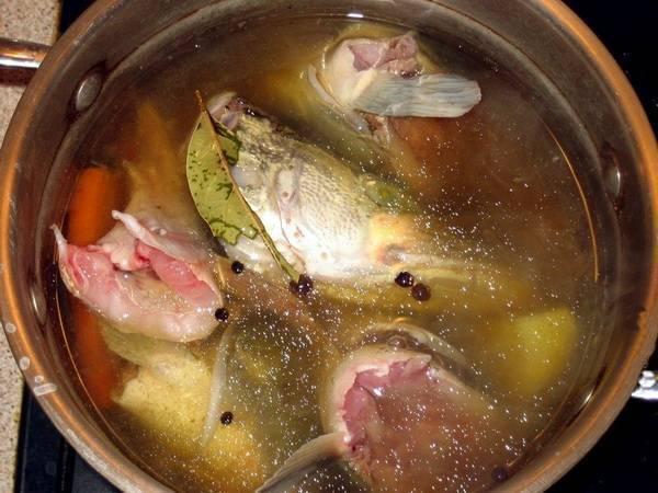 Уха из морской рыбы пошаговый рецепт с фотографиями