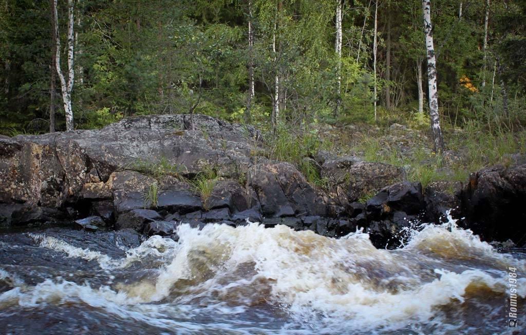 Поход на катамаранах по шуе. суойокский каскад (суойоки - шуя), а также на байдарках.