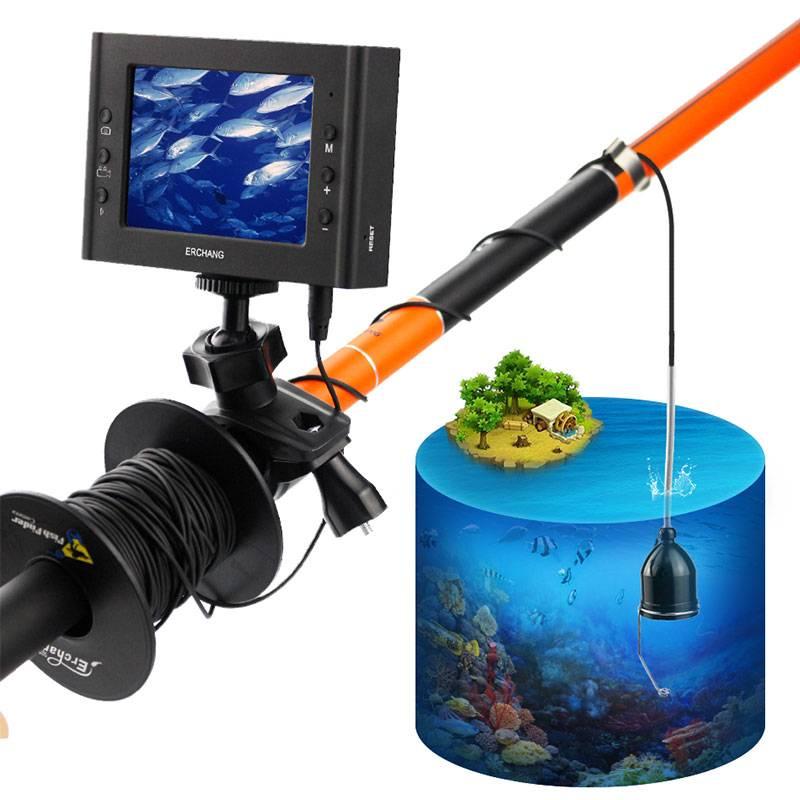 Эхолоты с подводной камерой, модели для зимней рыбалки с видеокамерой