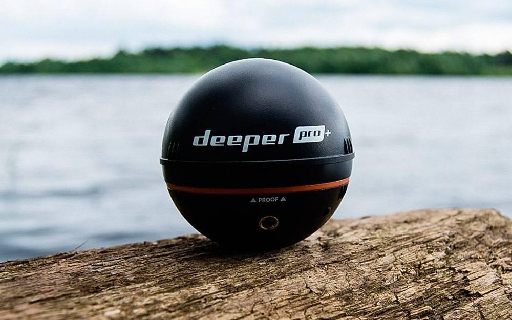 Sergeyok, обзор беспроводного эхолота deeper sonar pro+