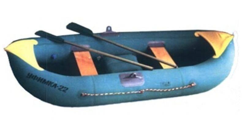 Подробности о 2-х местной надувной лодке «уфимка» из пвх