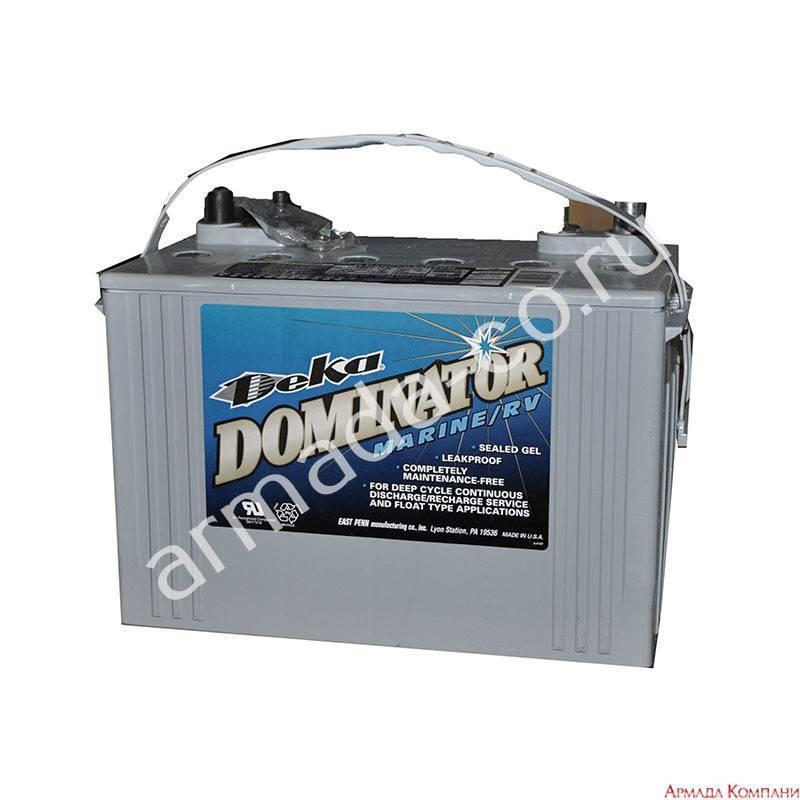 Тяговые аккумуляторы для лодочного мотора