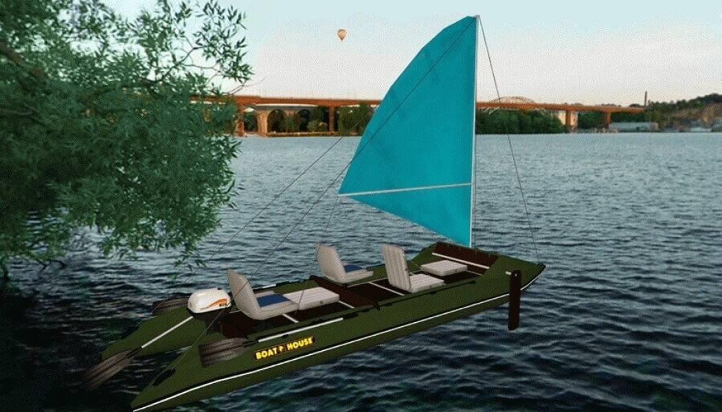 Лодка с парусом своими руками чертежи. парусная лодка своими руками – как сделать: чертежи и фото. скоростные малые суда