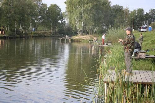 Рыбалка в барыбино