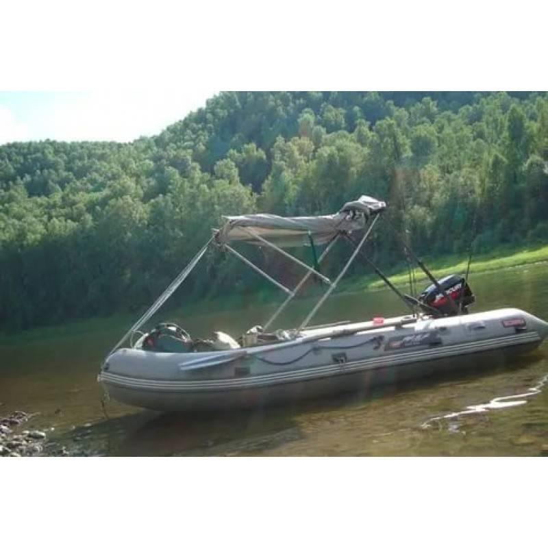 Тент на лодку пвх своими руками — как сделать?