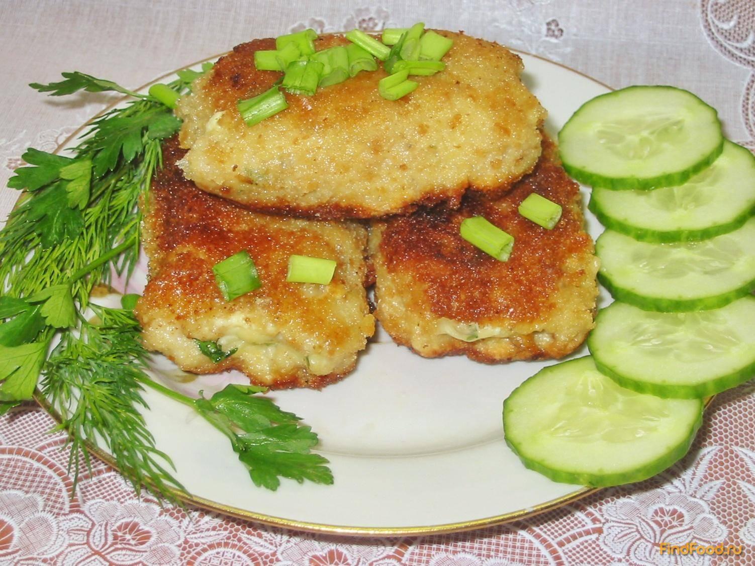 Рыбные котлеты (более 100 рецептов с фото) - рецепты с фотографиями на поварёнок.ру
