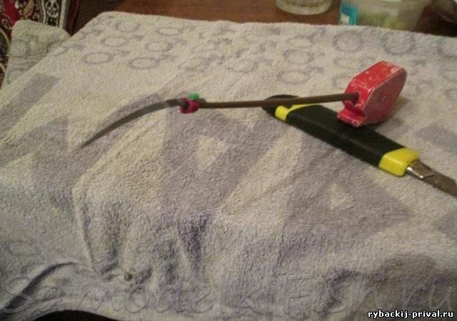 Кивки для зимней удочки, как сделать кивок и подобрать его к мормышке
