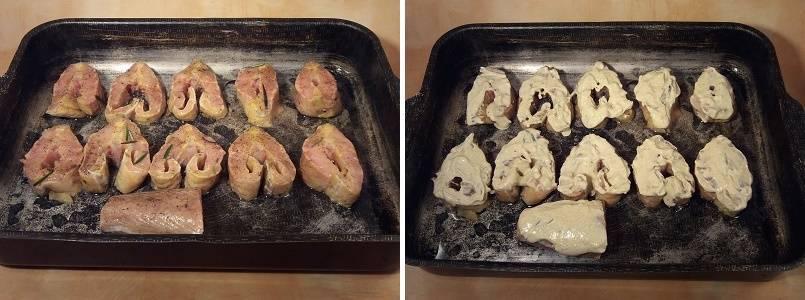 Осетр, запеченный в духовке целиком: секреты приготовления, рецепт с чесноком, овощами, соком лимона, в фольге, осетрины по-царски
